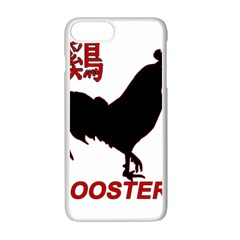 Year of the Rooster - Chinese New Year Apple iPhone 7 Plus White Seamless Case