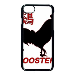 Year of the Rooster - Chinese New Year Apple iPhone 7 Seamless Case (Black)