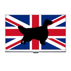 English Setter Silhouette United Kingdom Business Card Holders