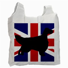 English Setter Silhouette United Kingdom Recycle Bag (Two Side)