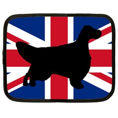English Setter Silhouette United Kingdom Netbook Case (XXL)