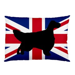 English Setter Silhouette United Kingdom Pillow Case (Two Sides)