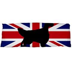English Setter Silhouette United Kingdom Body Pillow Case Dakimakura (Two Sides)