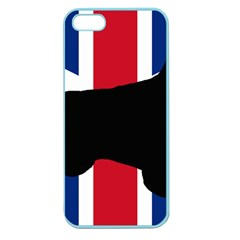 English Setter Silhouette United Kingdom Apple Seamless iPhone 5 Case (Color)