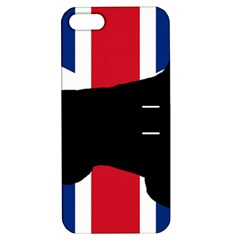 English Setter Silhouette United Kingdom Apple iPhone 5 Hardshell Case with Stand