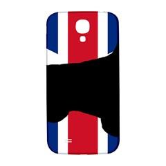 English Setter Silhouette United Kingdom Samsung Galaxy S4 I9500/I9505  Hardshell Back Case