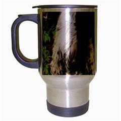 Black Roan English Cocker Spaniel Travel Mug (Silver Gray)