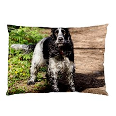 Black Roan English Cocker Spaniel Pillow Case