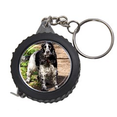 Black Roan English Cocker Spaniel Measuring Tapes