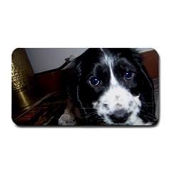 Black Roan English Cocker Spaniel Puppy Medium Bar Mats