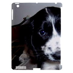 Black Roan English Cocker Spaniel Puppy Apple iPad 3/4 Hardshell Case (Compatible with Smart Cover)