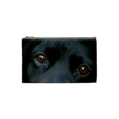 Cocker Spaniel Black Eyes Cosmetic Bag (Small)