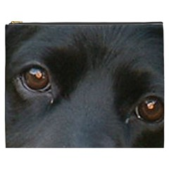 Cocker Spaniel Black Eyes Cosmetic Bag (XXXL)