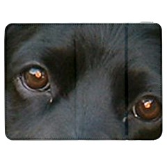 Cocker Spaniel Black Eyes Samsung Galaxy Tab 7  P1000 Flip Case