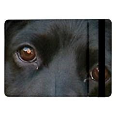 Cocker Spaniel Black Eyes Samsung Galaxy Tab Pro 12.2  Flip Case