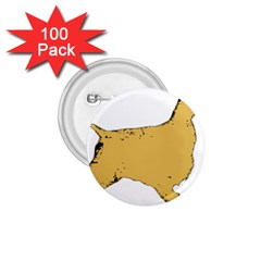 English Cocker Spaniel Silo Color 1.75  Buttons (100 pack)