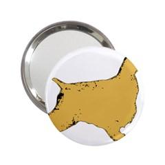 English Cocker Spaniel Silo Color 2.25  Handbag Mirrors