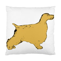 English Cocker Spaniel Silo Color Standard Cushion Case (Two Sides)