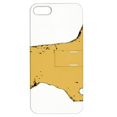 English Cocker Spaniel Silo Color Apple iPhone 5 Hardshell Case with Stand
