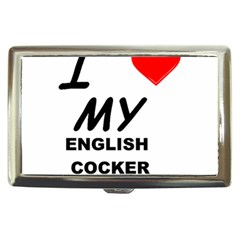 English Cocker Sp Love Cigarette Money Cases
