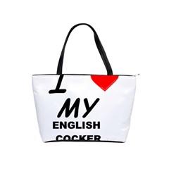 English Cocker Sp Love Shoulder Handbags