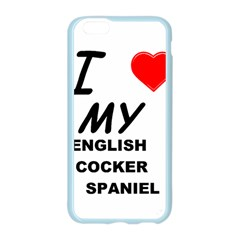 English Cocker Sp Love Apple Seamless iPhone 6/6S Case (Color)