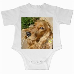 Red Cocker Spaniel Red Infant Creepers