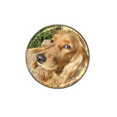 Red Cocker Spaniel Red Hat Clip Ball Marker (10 pack)