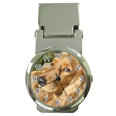 Red Cocker Spaniel Red Money Clip Watches
