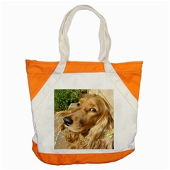 Red Cocker Spaniel Red Accent Tote Bag