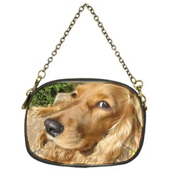 Red Cocker Spaniel Red Chain Purses (One Side)