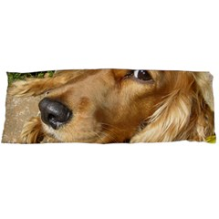 Red Cocker Spaniel Red Body Pillow Case (Dakimakura)