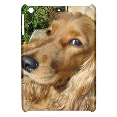 Red Cocker Spaniel Red Apple iPad Mini Hardshell Case