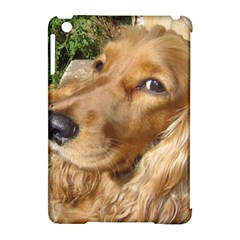 Red Cocker Spaniel Red Apple iPad Mini Hardshell Case (Compatible with Smart Cover)