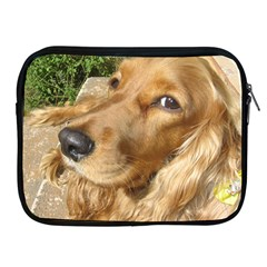 Red Cocker Spaniel Red Apple iPad 2/3/4 Zipper Cases