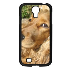 Red Cocker Spaniel Red Samsung Galaxy S4 I9500/ I9505 Case (Black)