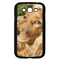 Red Cocker Spaniel Red Samsung Galaxy Grand DUOS I9082 Case (Black)