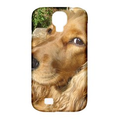 Red Cocker Spaniel Red Samsung Galaxy S4 Classic Hardshell Case (PC+Silicone)