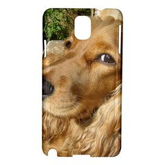 Red Cocker Spaniel Red Samsung Galaxy Note 3 N9005 Hardshell Case