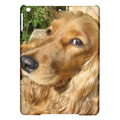 Red Cocker Spaniel Red iPad Air Hardshell Cases