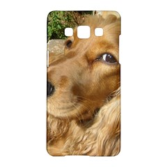 Red Cocker Spaniel Red Samsung Galaxy A5 Hardshell Case