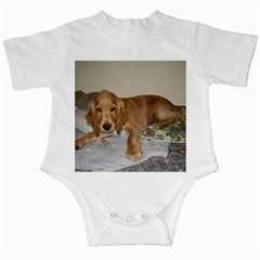 Red Cocker Spaniel Puppy Infant Creepers
