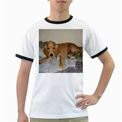 Red Cocker Spaniel Puppy Ringer T-Shirts