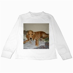 Red Cocker Spaniel Puppy Kids Long Sleeve T-Shirts