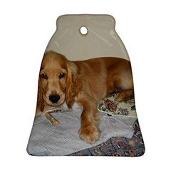 Red Cocker Spaniel Puppy Bell Ornament (Two Sides)