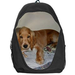 Red Cocker Spaniel Puppy Backpack Bag