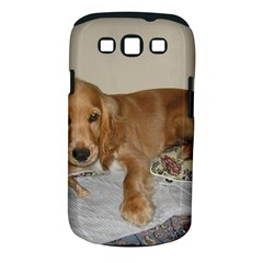 Red Cocker Spaniel Puppy Samsung Galaxy S III Classic Hardshell Case (PC+Silicone)