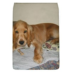 Red Cocker Spaniel Puppy Flap Covers (L)
