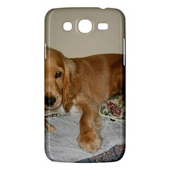Red Cocker Spaniel Puppy Samsung Galaxy Mega 5.8 I9152 Hardshell Case