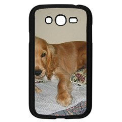 Red Cocker Spaniel Puppy Samsung Galaxy Grand DUOS I9082 Case (Black)